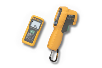 Fluke 414D,62 MAX , Laser Distance Meter, Infrared Thermometer Combo Kit